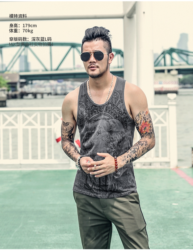 Sunny Taddlee Brand Men Tank Top Tees Shirts Sleeveless Cotton Male Singlets Stringer Hip Hop Solid Color Undershirts Gasp 2017 More Discounts Surprises Sports Clothing