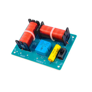 Image 3 - Tenghong 2pcs 2 Way Audio Crossover Board HIFI Bass Treble Speaker Frequency Divider For Home Theater Sound Quality Booster DIY