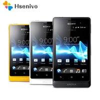 ST27 Original Unlocked Sony Xperia go Original Unlocked ST27i GSM 3.5inch 3G 5MP GPS WIFI Android Smartphone 512 RAM 1305mah