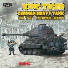 Tanque pesado alemán de la guerra mundial, tanque de Tigre, Kit de construcción, bricolaje, WWT003