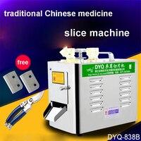 1PC DYQ838B medizin slicer  Amerikanischer ginseng scheibe maschine  ginseng scheibe gerät-in Elektrowerkzeug-Sets aus Werkzeug bei