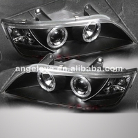 For BMW Z3 Angel Eyes Head Lamp 1996 to 2002 year Black Housing SN
