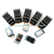 5 Pieces Top Quality MY4N-J MY4NJ intermediate relay 220V/24V AC with good quality Socket Base Other Voltage in Large Stock стоимость
