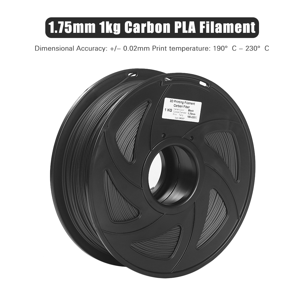 3D Printer Filament High Heat resistant Carbon Fiber With Degradable PLA 3D Printing Material 1.75mm 1kg Spool-in 3D Printing Materials from Computer & Office    3