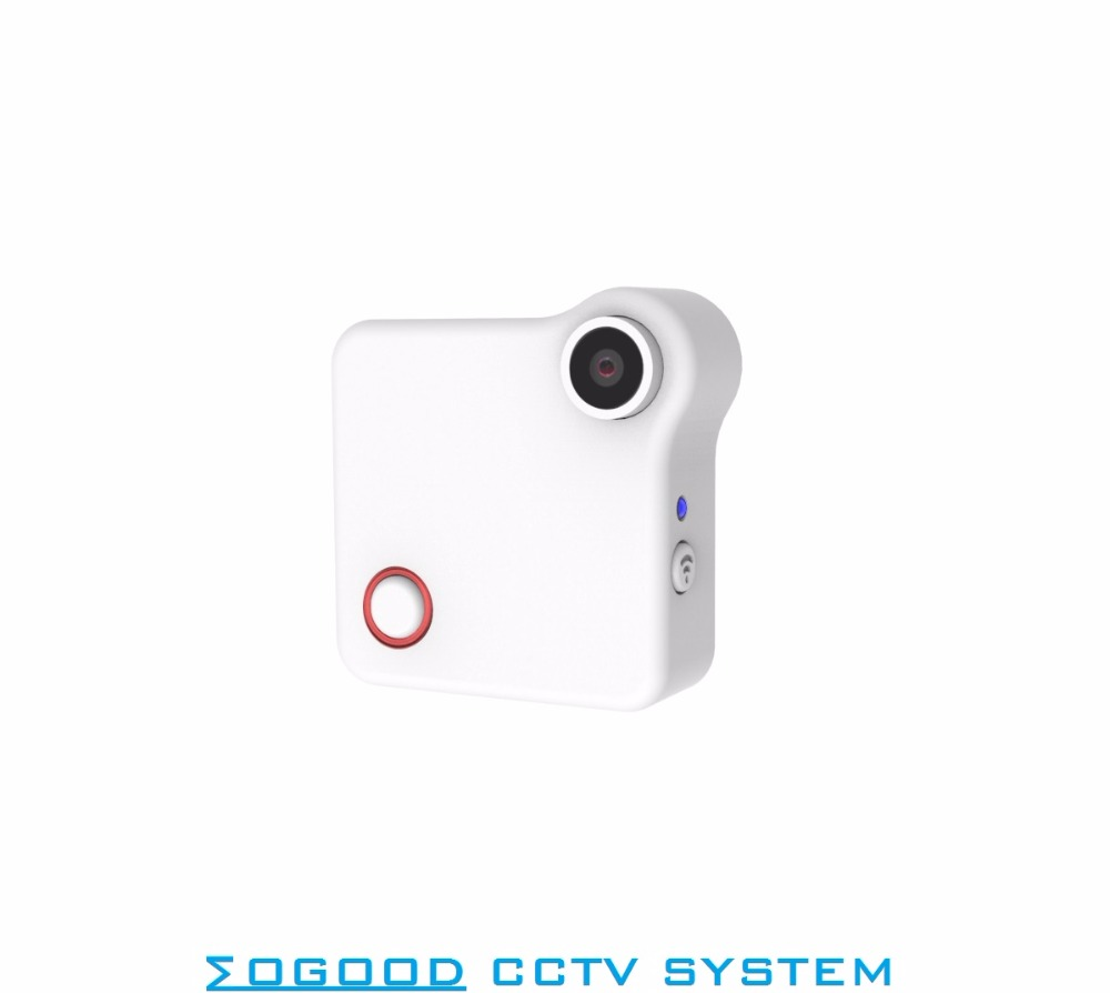 MoGood MoGood C1 Mini Wearable Camera Sporting Camera Internal Rechargable Battery 720P HD Motion Detection for Baby Care