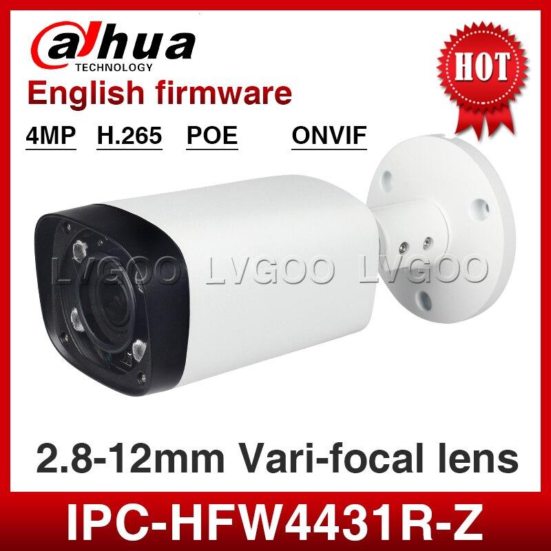 imágenes para Dahua IPC-HFW4431R-Z 4MP PoE 2.8-12mm Motorizado EXIR CCTV Al Aire Libre Cámara IP de la Seguridad
