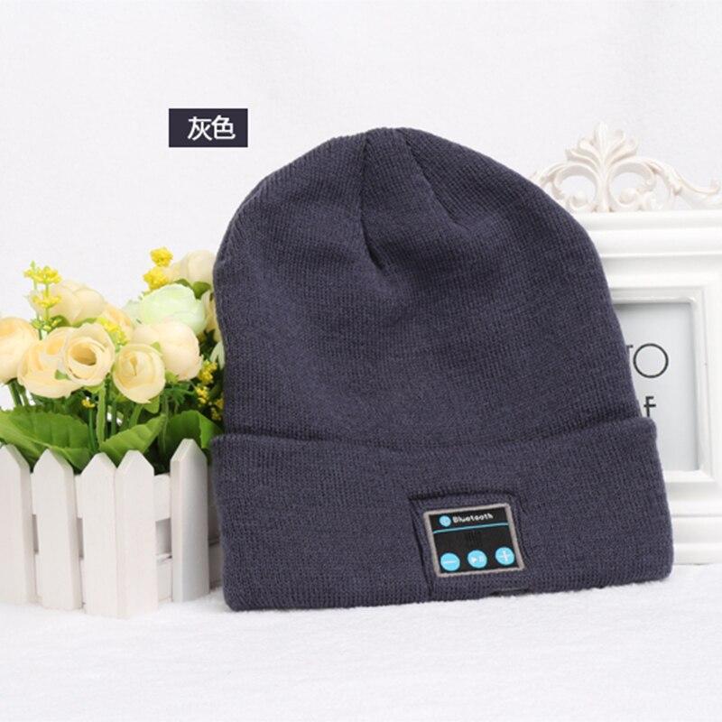 CALION M1 Fashion Comfort Warm bluetooth Music Earphone Cap Wireless Bluetooth Headphones Hat For Phones Hands Free Phone Calls