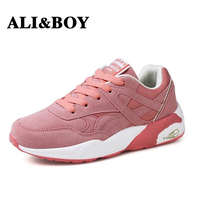 ab0adbef049 ALIBOY Krasovki Girl Running shoes women s sneakers sport woman ladies shoes  walking basket chaussure femme trainer