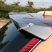 Gray Rear Roof Trunk Spoiler Wing 2pcs For Nissan Rogue X Trail 2014 2017|Chromium Styling| |  -