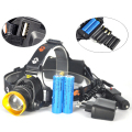 New XM-L T6 LED 2500 Lm Headlight Lampe Frontale Head Light Lamp AAA HeadLamp AA Lantern + Ac Car Charger 18650 Battery