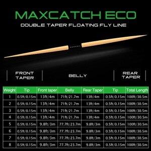 Летающая леска с двойным конусом Maximumcatch 2/3/4/5/6/7/8 WT, плавающая рыболовная леска