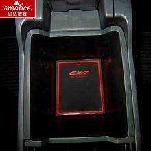 16 шт./компл. для Mazda CX-7 CX7 CX 7 автомобилей Аксессуары, 3D резиновая Коврики Нескользящие напольные Pad Салонные подложки smabee