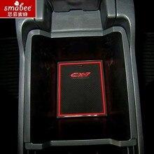 16 шт./компл. для Mazda CX-7 CX7 CX 7 автомобильные аксессуары, 3D резиновая ковриком интерьер Кубок Pad Салонные подложки smabee