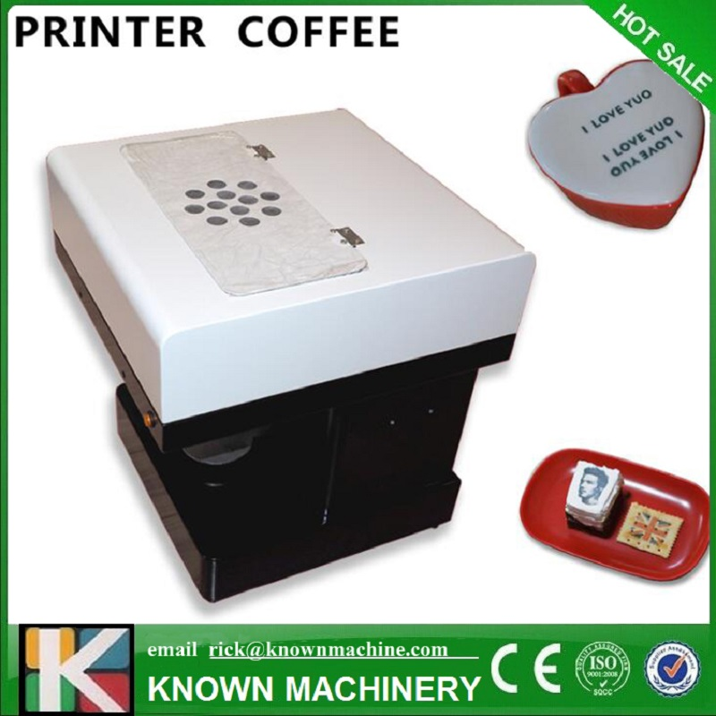 Selfie latt coffee printer from China Flatbed printer manufacture, High resolution coffee printer for saleSelfie latt coffee printer from China Flatbed printer manufacture, High resolution coffee printer for sale
