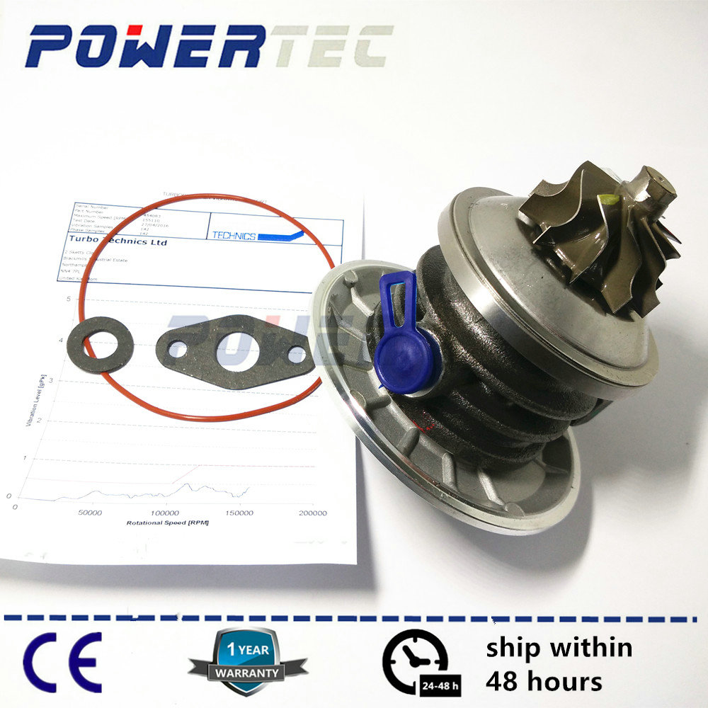 Turbo charger CHRA GT1544S turbine cartridge core for Audi A4 1.9 TDI B5 1Z / AHU 66Kw 1995-1998 454097 028145702 028145702X powertec turbo kit turbocharger turbine cartridge core chra gt1749v for audi a6 1 9 tdi 96kw 717858 038145702j