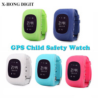 Children Kid Anti Lost Smart Watch GSM GPRS GPS Locator Watch Child Guard For IOS Android