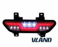 vland factory for Mustang fog light led bar 2015 2016 2017 for Mustang rear bumper Fog light brake light