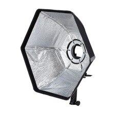 Selens фотографические Softbox софтбокс 50 см Шестиугольник с L-образный Адаптер Кольцо Фотостудия Аксессуары