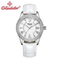 Gladster Luxury Japan MIYOTA GM10 Quartz Female Wristwatch Sapphire Crystal Stainless Steel Lady Clock Simple Casual Women Watch