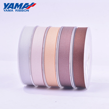 YAMA 100% Polyester Twill Ribbon 9mm 16mm 19mm 25mm 38mm Ribbons 50yards Per Roll for Crafts Hand Made Woven Bow Gift