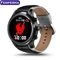 "2016 Fashion LEM5 Android 5.1 OS Smart Watch 1.39"" AMOLED Display MTK6580 3G WiFi Nano SIM Card GPS Bluetooth Smartwatch"