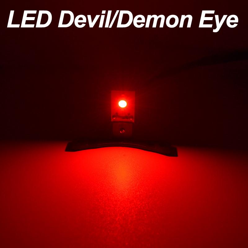 Prix pour DMEX Livraison Gratuite Démon LED Diable Yeux Fit Pour Toutes Les Voitures Projecteur Phare, Couleur Blanc, Rouge, Bleu, vert, Jaune