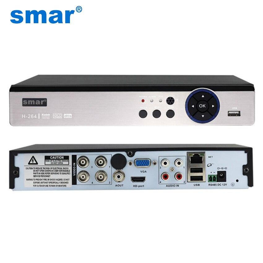 Smar 5 в 1 видеонаблюдения DVR 4CH 8CH AHD 4MP 3MP 1080 P H.264 Гибридный видео Регистраторы для AHD TVI CVI аналоговый IP Камера Onvif2.3