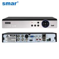 Smar 5 In 1 Security CCTV DVR 4CH 8CH AHD 4MP 3MP 1080P H 264 Hybrid