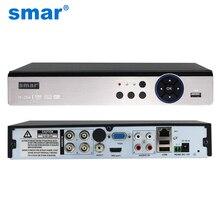 Smar 5 en 1 Sécurité CCTV DVR 4CH 8CH AHD 4MP 3MP 1080 P H.264 Enregistreur Vidéo Hybride pour AHD TVI CVI Analogique IP Caméra Onvif2.3