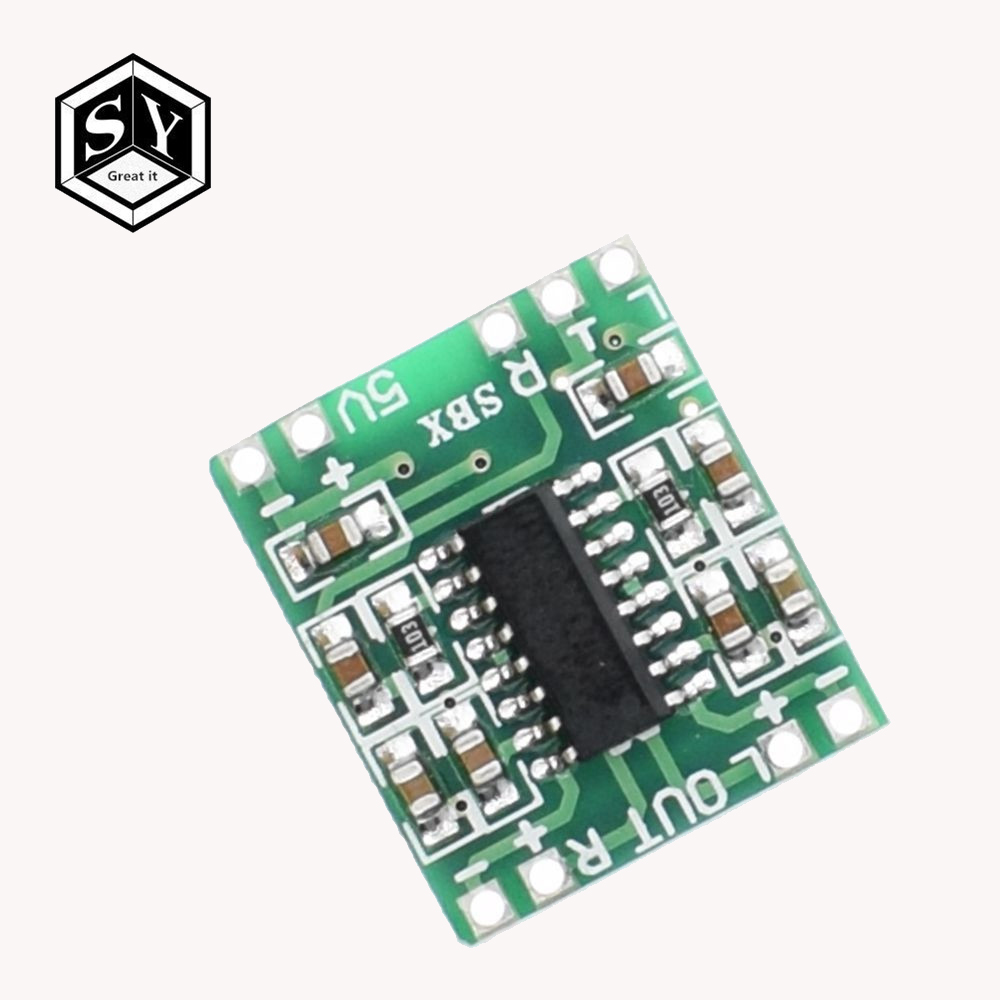 Amplifier Logical High-power 2-channel 3w Pam8403 Audio Super Mini Digital Red Amplifier Board Home Audio & Video