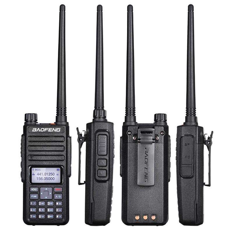 2019 Factory Price Baofeng DM 1801 Walkie Talkie DMR Digital Dual Band Two Way Radio Dual