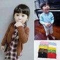 Nuevos niños kintwear otoño niño de manga larga suéter de los cabritos cabritos de la capa de ropa de algodón de los bebés de la rebeca suave