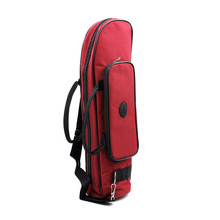 Homeland Twill Surface Trumpet Case Bag Thicken Padded Foam Non-woven Inner Cloth with Adjustable Shoulder Strap Pocket