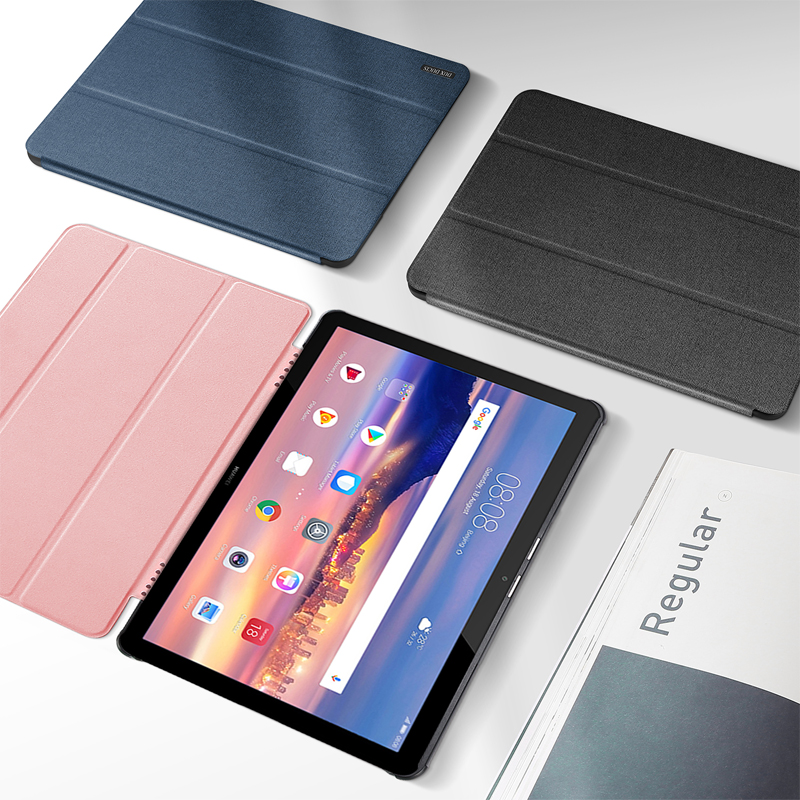 Smart Case For Huawei Mediapad T5 10'' Luxury Leather Retina Cover For Huawei T5 10 AGS2-W09/L09/L03/W19 Ultra Slim Auto Sleep