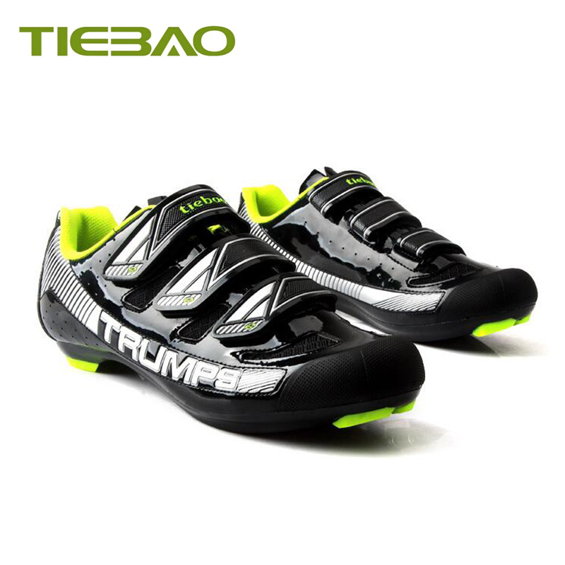 Купить с кэшбэком Tiebao road bike shoes sapatilha ciclismo 2019 men self-locking breathable superstar bicicleta bike sneakers zapatillas hombre