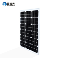 Xinpuguang 60W 18V Monocrystalline Silicon Solar Panel/Kits China 765*505*25mm 60W Panel s solar cell / module / system / home