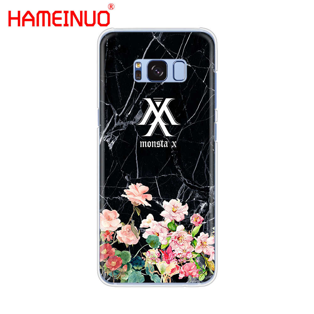 HAMEINUO KPOP K.A.R.D MONSTA X NCT 127 cell phone case cover for Samsung Galaxy S9 S7 edge PLUS S8 S6 S5 S4 S3 MINI