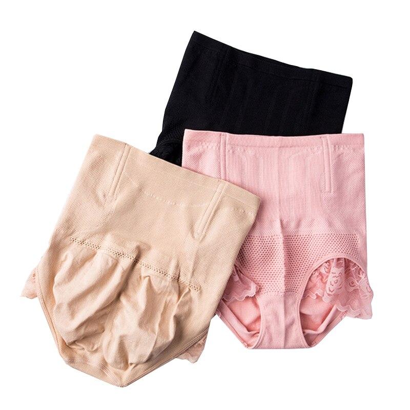 bf9ba09ac High Waist Women s Slimming Pants Shapewear Tummy Control Panties Knicker  Body Shapers Sexy Lace Lady Lingerie Corset Underwear