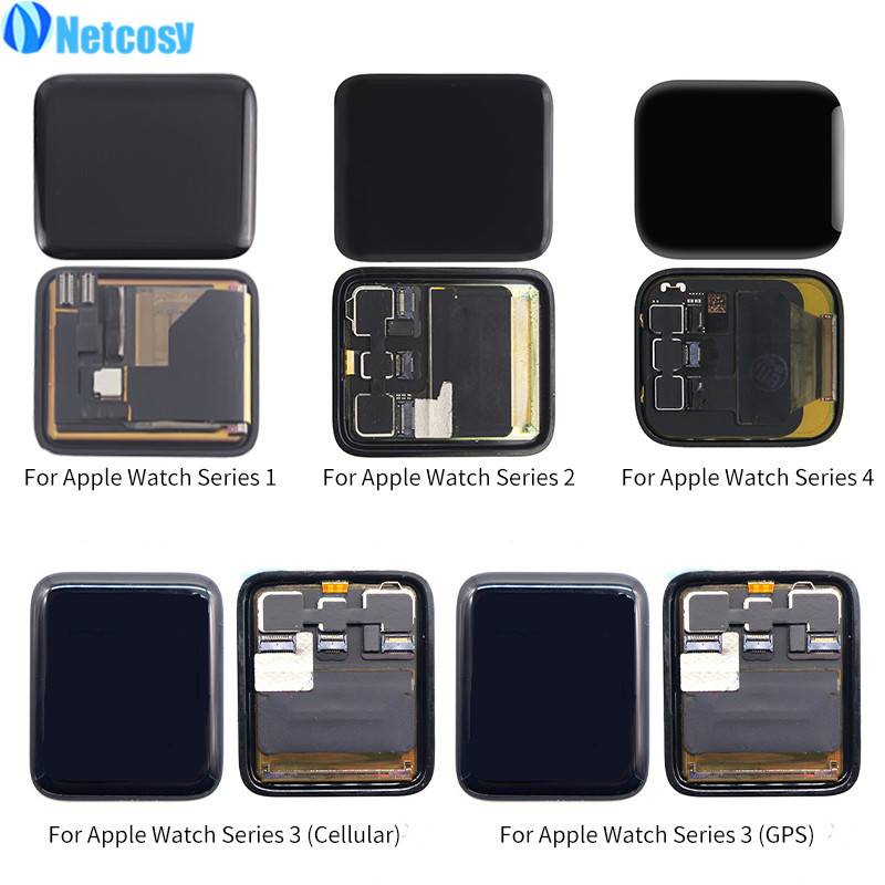 Full screen LCD Display Touch Screen Digitizer Assembly Repair Part For Apple watch Series 1 2