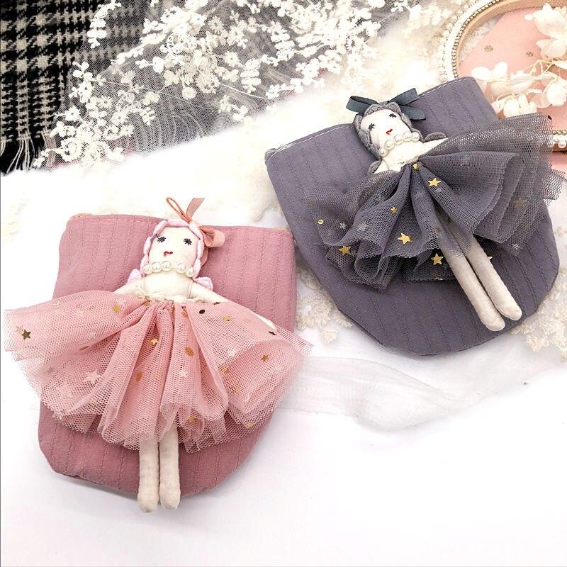 Monsisy Children Handbag Wallet Girl font b Bag b font Coin Purse Kawaii 3D Angle Doll