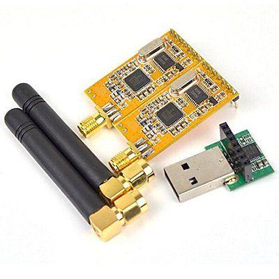 APC220 Wireless RF serial Data Modules With Antennas USB Converter