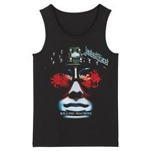 Bloodhoof Judas Priest Grindcore Hartmetall Deathcore herren schwarz Tank Tops Asiatische Größe