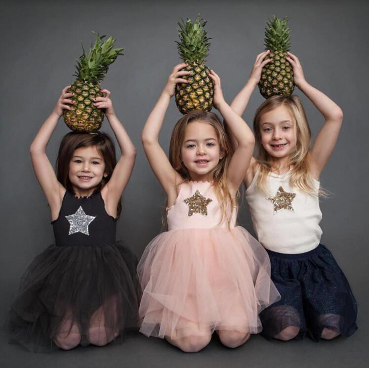 4efa63e6cd36 Cheap Marca de verano 2019 niños vestidos para niñas ropa Casual Bling Star  Girl vestido niños