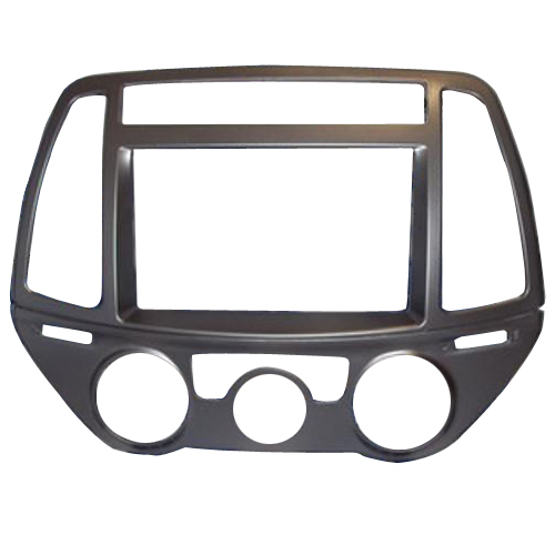 For HYUNDAI I-20 i20 i 20 Radio CD DVD Audio Panel Dash Mount Trim Refitting Kit  Fascia Face Surround Frame Bezel Double Din 2