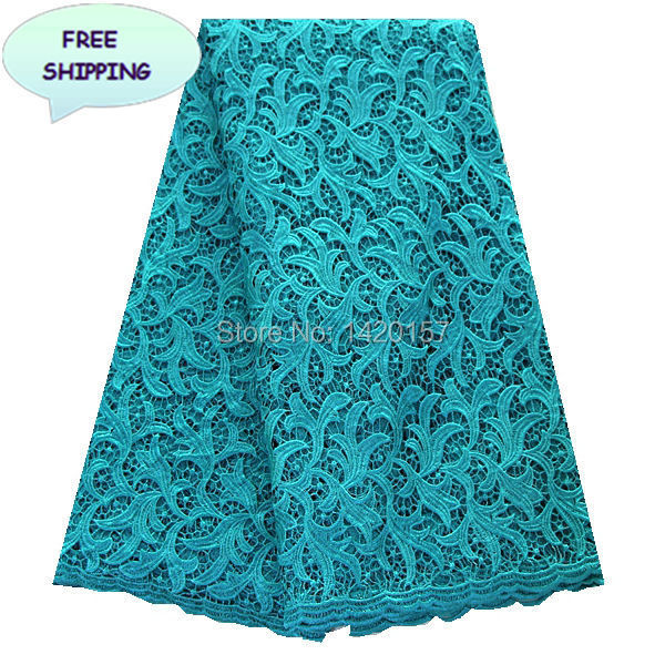 Lace store online water soluble lace fabric in green, bridal wedding ...