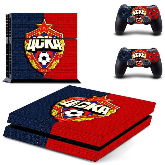 Football PS4 Skin Sticker Decal Vinyl for Sony Playstation 4 Console and Controller PS4 Skin Sticker