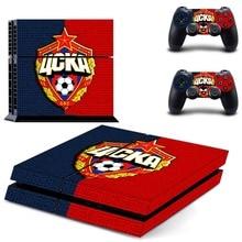 كرة القدم PS4 الجلد ملصق مائي الفينيل لسوني بلاي ستيشن 4 وحدة التحكم والتحكم PS4 الجلد ملصق
