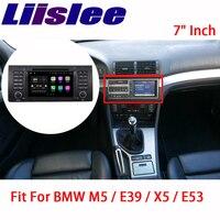 Liislee навигационная gps для BMW M5 E39 X5 E53 1995 ~ 2007 радиоприемник для Android большой Экран стерео Мультимедийный плеер Bluetooth
