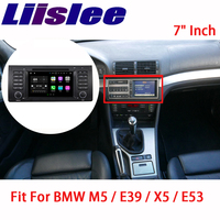 Liislee Car Navigation GPS For BMW M5 E39 X5 E53 1995~2007 Android Radio Big Screen Stereo Multimedia Player Bluetooth