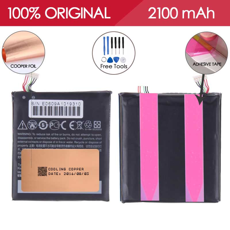 100 TESTED BM35100 2100mAh Li ion Mobile Phone Battery For HTC ONE X S720e One S